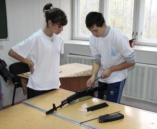 Суворовское военное училище в городе