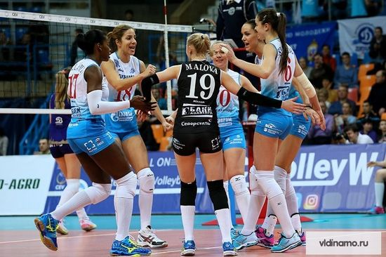 «Динамо» уступило «Берлину» вматче волейбольной Лиги чемпионов