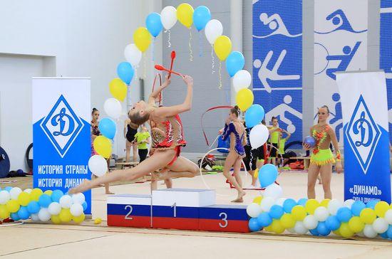 Карелия. VII Межрегиональные соревнования по художественной гимнастике среди детей