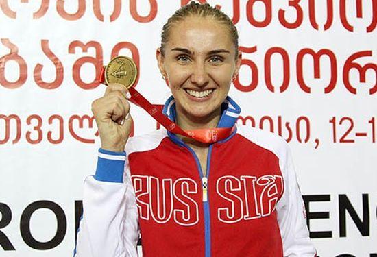 Русская шпажистка Виолетта Колобова завоевала золото чемпионата Европы