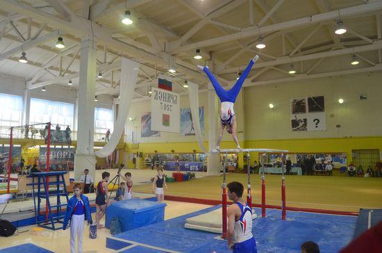 Соревнования по спортивной гимнастике «Юный динамовец – надежда России»